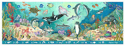 Melissa & Doug  Search & Find Under the Sea Floor Puzzle - 48 pieces #4493 -New