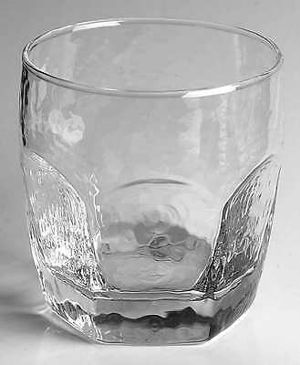 Libbey Rock Sharpe CHIVALRY CLEAR Double Old Fashioned Glass 3734494
