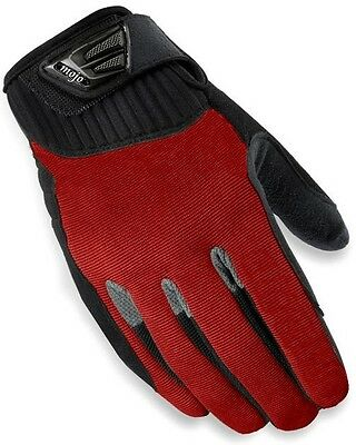 NEW MOJO Pro Style Paintball Gloves- Red