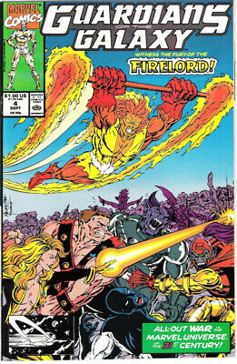 Guardians of the Galaxy Comic Book #4, Marvel 1990 NEW UNREAD