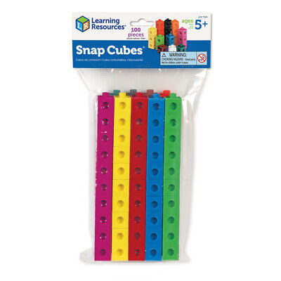 Learning Resources Snap Unifix Cubes- Choice of Sets (One Supplied) NEW