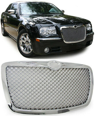 Chrysler 300C 04-11  KÜHLERGRILL GRILL IM BENTLEY WABENDESIGN CHROM