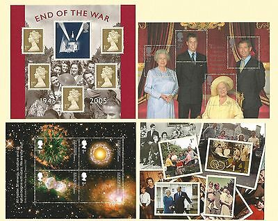 GB - Miniature Sheets - Multi Listing MS2161 MS2547 MS 2786 - Just select Stamps