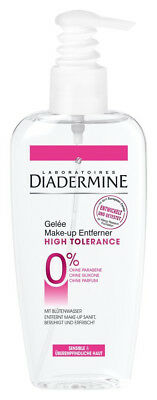 "3 x Diadermine ""High Tolerance""Reinigungsgelee Make up Entferner je 200ml"