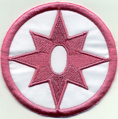 """3.5"""" Star Sapphire Lantern Corps Classic Style Patch"""