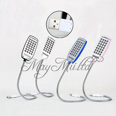 Flexible Bright Mini 28 LED USB Light Computer Lamp for Notebook Computer PC S