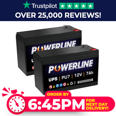 Powerline UPS Battery for APC RBC48 UPS