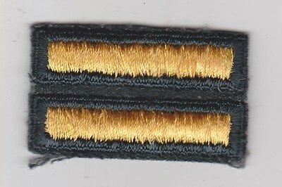 """1955-NOW U.S. ARMY 2 OVERSEAS BARS FOR 12 MONTHS SERVICE ARMY GREEN CUT 1.25"""""""