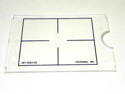 Tektronix 387-0893-02 Tek 576 Target Screen Overlay, New