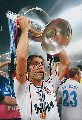 Andrea PIRLO Signed Photo AFTAL COA Autograph AC Milan Italy World Cup Winner