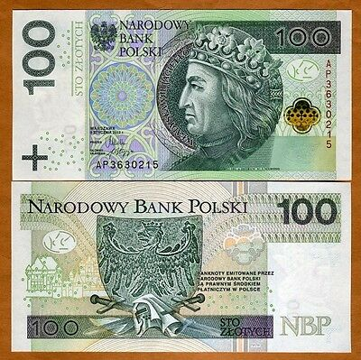 Poland, 100 Zlotych, 2012 (2014), P-New, UNC