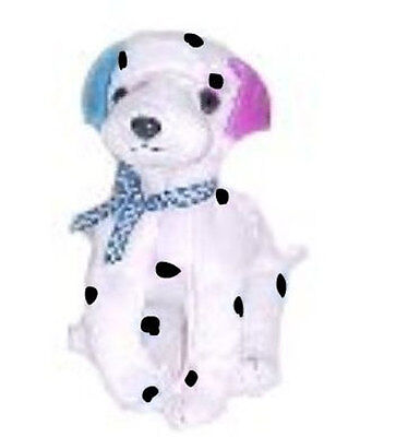 6b61fb029fd TY Beanie Baby - DIZZY the Dalmatian  UK VERSION  (black spots   colored