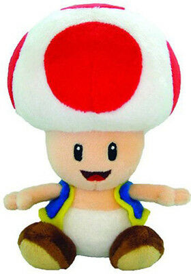 "New Nintendo 7"" Toad - Super Mario Plush Doll Toy"