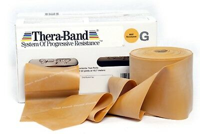 Thera-Band gold 45,5 Meter-Rolle Theraband, NEU