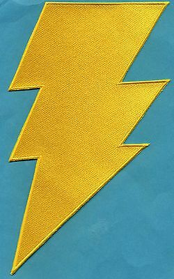 """The Flash Professor Zoom 2/"""" Fully Embroidered Small Insignia Patch"""