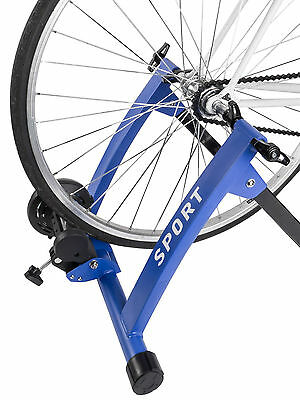 Turbo Trainer Magnetic Indoor Bike Trainer for Road Mountain Bicycle Skewer