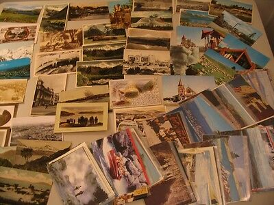 (100) New Zealand Postcard Lot NZ cdii