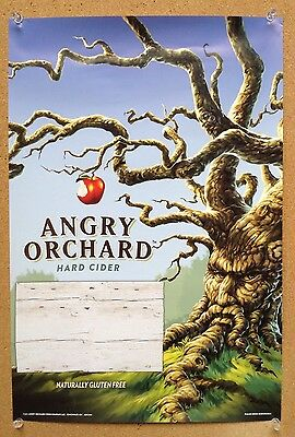 10 Angry Orchard Apple Cider Beer Posters New Mint! 17 X 12