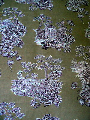 LOVELY TOILE FABRIC HUGE Bolt 21 Yards!!