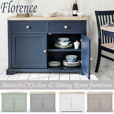 FLORENCE Sideboard, kitchen cupboard with 2 drawers and 2 doors, FULLY ASSEMBLED