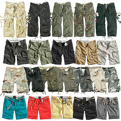SURPLUS™ RAW VINTAGE CARGO BERMUDA SHORTS US ARMY CHINO WALK SHORT Kurze Hose
