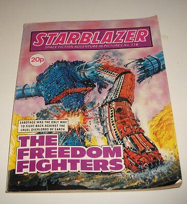 #118 Starblazer Picture Library - THE FREEDOM FIGHTERS - 1984