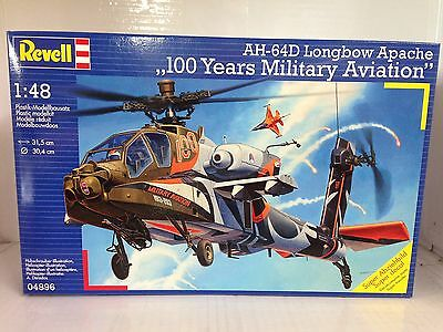 +++ Revell AH-64D Longbow Apache 100 Years Military Aviation 1:48 04896