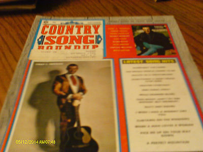 Jimmy C Newman Covers Country Song Roundup Magazine November 1970