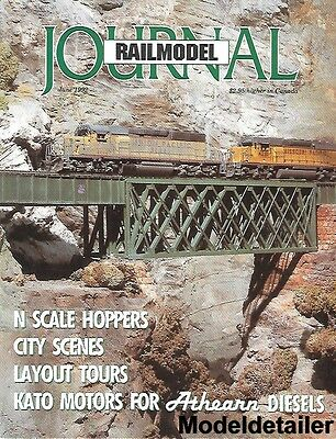 Railmodel Journal June 92 UP Union Pacific Utah D&RGW EMD GP9 B&O Kato Athearn