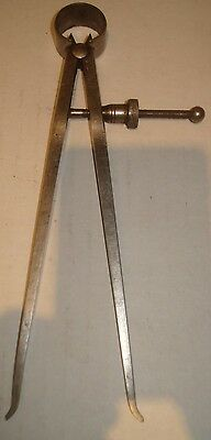 "Vintage Starrett ""Fay' Spring-Type Inside Caliper 6 Inch With Quick-Spring"