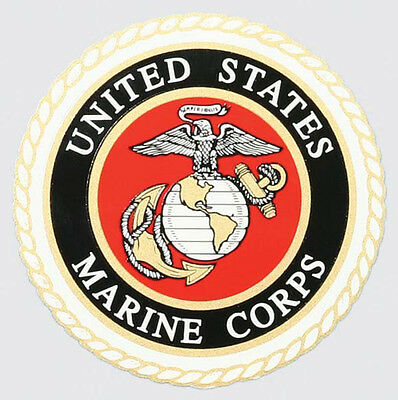 Us Marine Corps Usmc High Quality Outside Application Sticker - Made In The Usa!