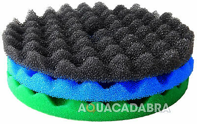 Cloverleaf Cl1 Cl2 & Cl3 Replacement Fish Pond Foam Filter Sponge Media Set Koi