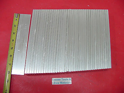 "40 pieces 1/4"" X 1-1/2"" ALUMINUM 6061 FLAT BAR 8"" T651 .250"" long New Mill Stock"