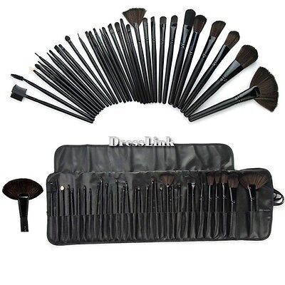 7/12/32 Trucco Cosmetici Ombretto fard Pennelli Make Up Brush Set + Borsa DL0