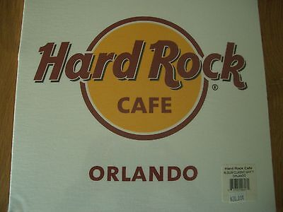 HRC Hard Rock Cafe Orlando Album Classic Tee White Size L  NWT OVP