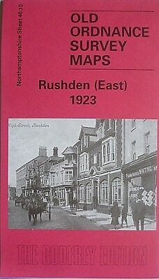 Old Ordnance Survey Maps Rushden East 1923 Northamptonshire Godfrey Edition