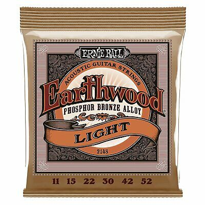 Ernie Ball 2148 Phosphor Bronze Acoustic Guitar Strings 11-52