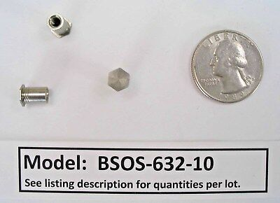 Blind Threaded Standoffs - (various sizes and quantities) #5cj