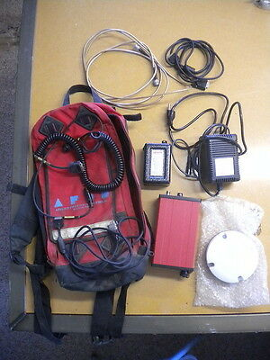Racal GPS Survey Landstar MKIV w/ Battery Pack Charger Antenna Backpack & Cables