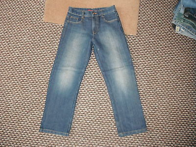 "George Custom Cut Classic Fit Jeans W25"" L24"" Faded Med Blue Boys 9/10Yrs Jeans"