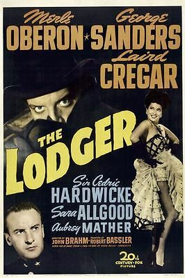 Movie Poster Fridge Magnet - The Lodger