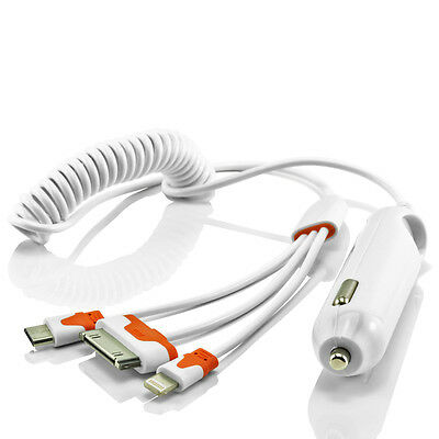 Auto KFZ Ladekabel Micro USB Kabel Adapter iPhone 7/6 Plus Samsung S7 S6 Sony LG