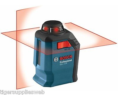 Bosch GLL 2-20 Self-leveling 65' Cross-Line Laser with 360° Horizontal Plane