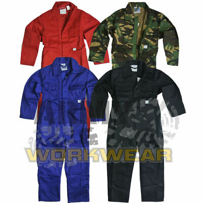 Kids Boilersuit Childrens Overalls Boys Girls Jumpsuit Coveralls Heavy Duty New