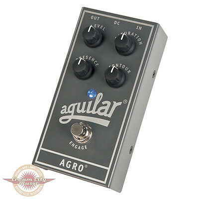 Brand New Aguilar Agro Bass Overdrive Pedal