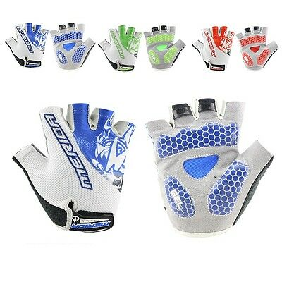 New Breathable Cycling Bike Bicycle Sports GEL Pad Half Finger Glove M-XL
