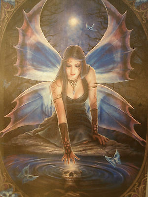 Anne Stokes Immortal flight Box Keepsake Box trinket jewelry large new 28cm