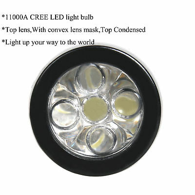 CREE Q5 LED Cycle Bicycle Bike Head Front Light + Rear Cycling Safety Flashlight