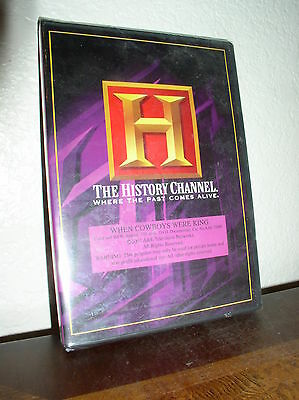 The History Channel: When Cowboys Were King (DVD, 2003)