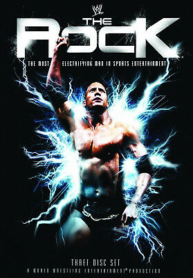 WWE THE ROCK The Most Electrifying Man In Sports Entertainment 3x DVD DEUTSCH